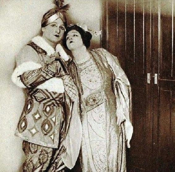 Giacomo Lauri-Volpi and Claudia Muzio