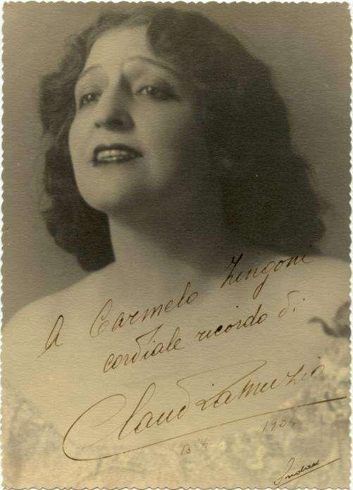 Claudia Muzio Bellissima