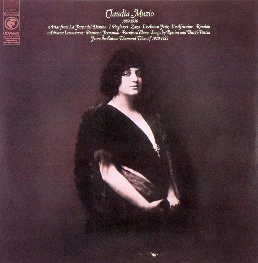 Muzio on LP with Odyssey Records