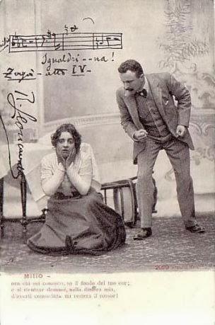 Edoardo Garbin and Rosina Storchio